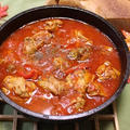 鶏ももチリンドロン(スペイン風鶏の煮込み料理)