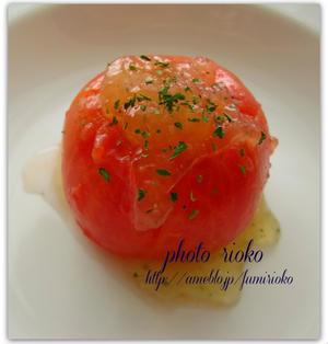 ●トマトのファルシーサラダ~チキンオニオン~●