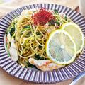ささみと豆苗のレモンしょうゆパスタ|レシピ・作り方 by 筋肉料理研究家Ryotaさん