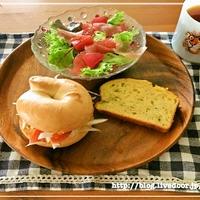 [スムージードレで朝カフェ] 生ハムとグレープフルーツのサラダ レシピ