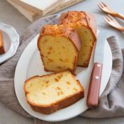 【レシピ】柚子ピールのパウンドケーキ