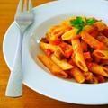 アラビアータ風ラタトゥイユペンネ♪作り置きや常備菜でアレンジ&リメイク!簡単おうちイタリアンレシピ