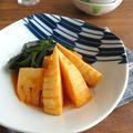 野菜ジュースでお洒落な創作イタリアン♪トマト風味の若竹煮