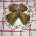 抹茶小豆ケーキ