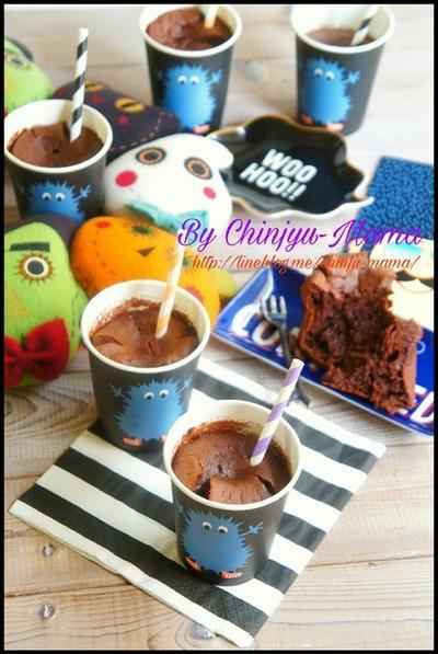 簡単【アレを入れると!】混ぜるだけでふわっふわしっとり♡生チョコケーキ