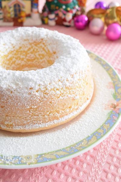 粉雪のリングケーキ 2人っきりで過ごすクリスマスに♡
