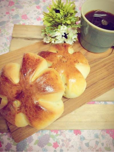 メープル胡桃パン。と幼稚園児のお弁当(ドナルド風)