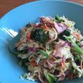 野菜がモリモリ食べられるカレーマヨ和えサラダ