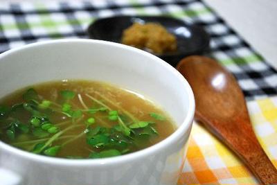 生姜とネギのぽかぽかスープ(手作りスープの素)