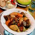 ビーフのシェリー煮込みシチュー ~ ほろほろの牛肉&旨みのとけたスープ by mayumiたんさん