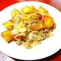 「 ひき肉とジャガイモの炒め物 」