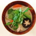 和食割烹の味!白味噌のお雑煮