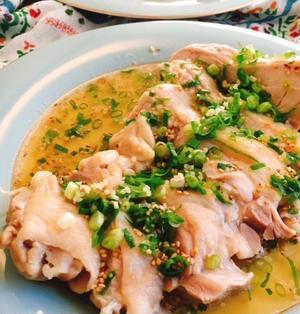 しっとり蒸し鶏の台湾料理☆葱油鶏(ソンユーチー)動画有