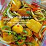 花嫁レシピ♡麺つゆ使用で楽々バージョン♡『豆腐の南蛮漬け』《簡単*節約*作り置き*お弁当》