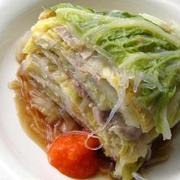 旨みがギュッ!ペロリと食べられる「白菜の重ね蒸し」