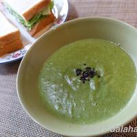 【朝活レシピ】 小松菜のポタージュで新緑爽やかな春を感じる 新じゃがのクリーミーな口当たりが絶品!