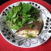 鯛のレモンバターソース