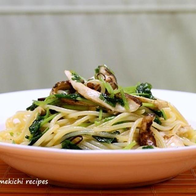今年最初の「松茸」でパスタ~&「最近の食卓風景あれこれ」