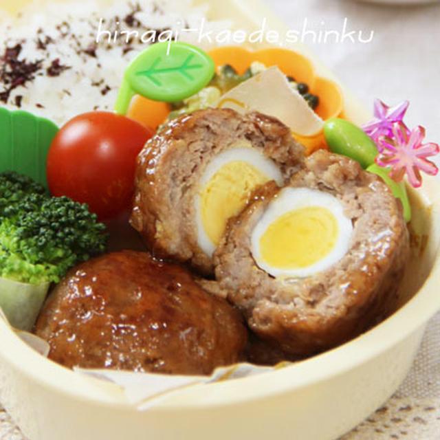 お弁当にも◎!うずら卵入りコロコロハンバーグ