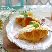 レンジで簡単♪レモンクリームのスイーツパン&紅茶の時間(ポエム)