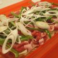 ルクエで簡単豚肉とキャベツのおろし蒸し