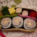 ギョニリビト【魚肉海苔巻ぶたさん♪】 by とまとママさん