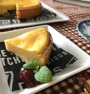 カッテージチーズと米粉 DE チーズケーキ♬