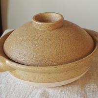 無印の土鍋で作る、豆腐団子と水菜のヘルシーお鍋