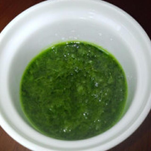 緑のソース