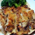 「タカラ本みりん国産米100%」と「タカラ料理のための清酒」で☆鶏の照り焼き♪
