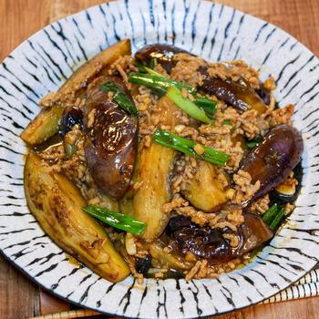 ピリッと美味しい「茄子の麻婆炒め」&「揚げたシュウマイと最近のお弁当事情」