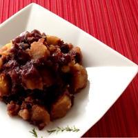 簡単・美味しい☆甘いおかず♪『ゆであずきの煮物』お鍋に全て入れるだけ♪♪