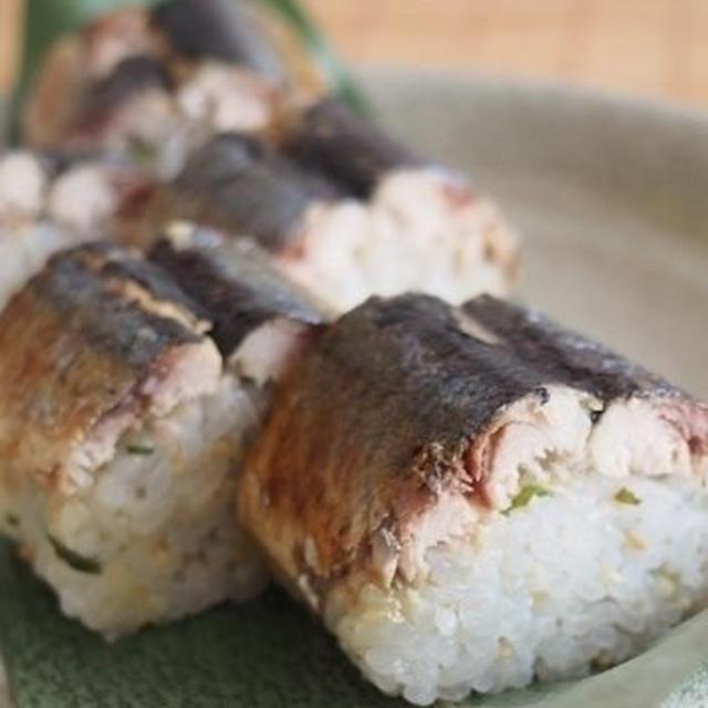 焼きサンマ寿司♪&ありがとう♪