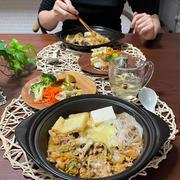 鍋の季節がやってきた!白菜と豚の味噌チーズ鍋で今季初のひとり鍋晩ごはん(大鍋で作っておいて取り分ける方法で)
