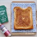 甘~い幸せ♡はちみつシナモンバタートースト-簡単*おやつ*食パン*釣り*太刀魚