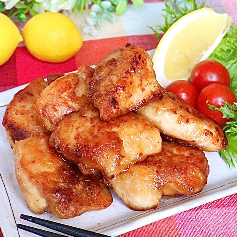 ■柔らかジューシー鶏むね肉のから揚げ<br><br>「子どもたちに大人気で、食卓に出すとすぐなくなり...