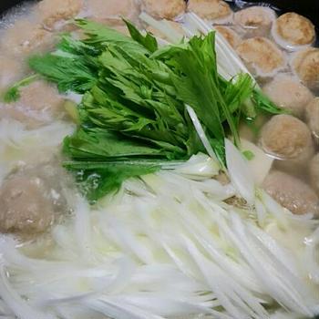 シャンタン 肉団子鍋
