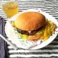 なんてことない、スタンダードなハンバーガー