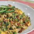 ゴーヤーとチャーシュー炒飯のレシピ