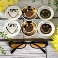 【セリア購入品】新作スマイル柄豆皿とPC用メガネ