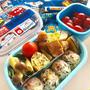 息子の幼稚園お弁当 型抜きチーズにハマり中♡