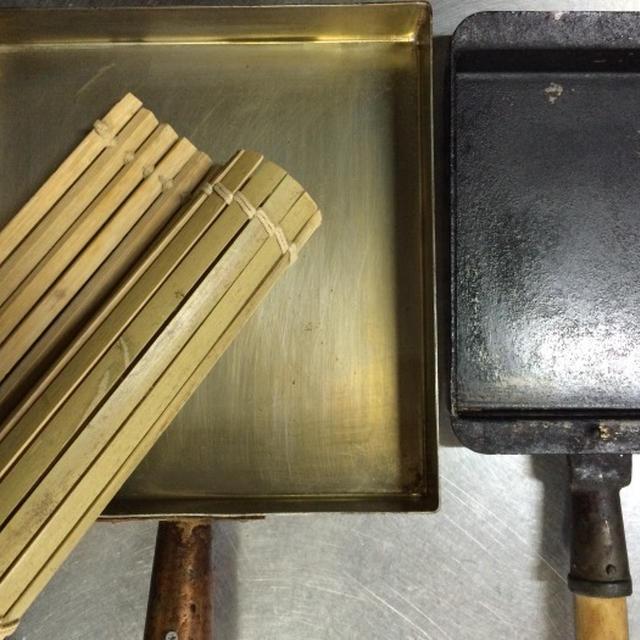 銅製卵焼き鍋お手入れ