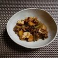 ジャガイモと牛肉の甘辛煮物