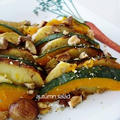 秋の温野菜ほくほくサラダ