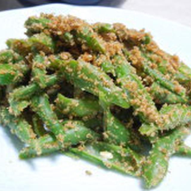 緑野菜おかずトリオ