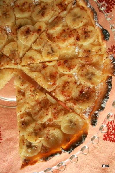 バナナココナッツタルト