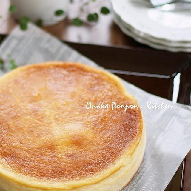 ■NYチーズケーキ 混ぜるだけ♡ 使い切りで(笑)