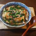 桜海老と椎茸 ニラのあんかけ揚げだし豆腐 by KOICHIさん