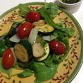 しそオイル*の夏野菜温サラダ