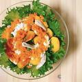 美肌&風邪予防に☆柿と鷄肉のビタミンサラダ